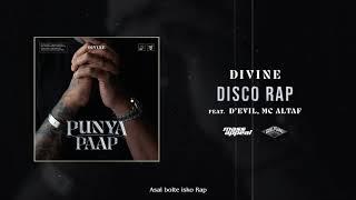 DIVINE - Disco Rap Feat. D'Evil, MC Altaf (Official Audio)   Punya Paap