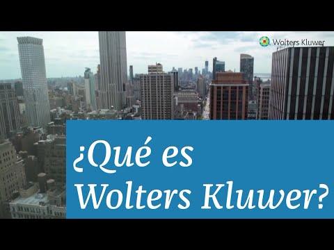 ¿Qué es Wolters Kluwer?