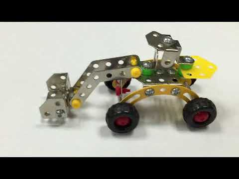 3D Assembly Metal Engineering Vehicles Model Kits Toy