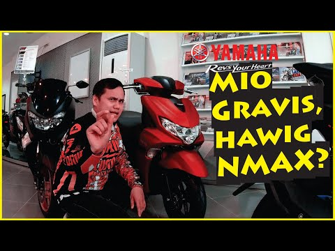 First Look @ The New YAMAHA Mio Gravis | Specs And Features