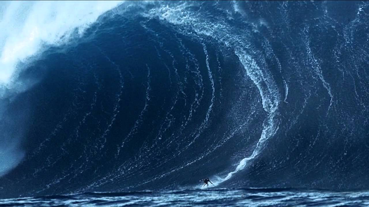tsunami waves