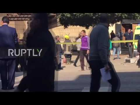 Egypt: At least 25 killed in Coptic Cathedral bombing in Cairo