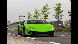 The 15th of June I was near Modena outside the Lamborghini Factory ...