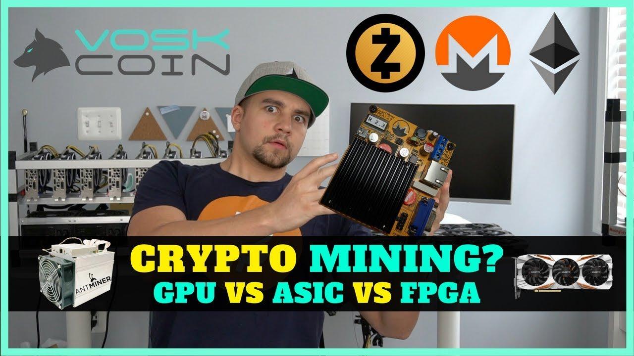 The Outlook on Cryptocurrency Mining – GPU vs ASIC vs FPGA