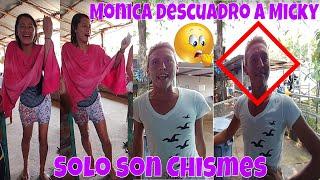 Monica vs Micky. Se agarraron a los Chismes. Quien será Luis? ahh😯 Baleadas Catrachas. Parte 3