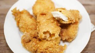 Crispy Chicken Recipe - How To Make Crispy Chicken Tenders
