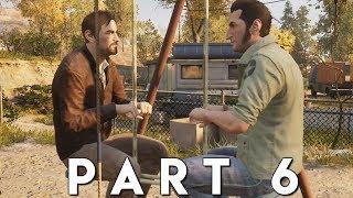 A WAY OUT Walkthrough Gameplay Part 6 - TRAILER PARK (PS4 Pro)