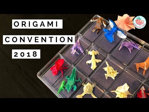 WOW!! NYC Origami Convention 2018 | New York City June 2018