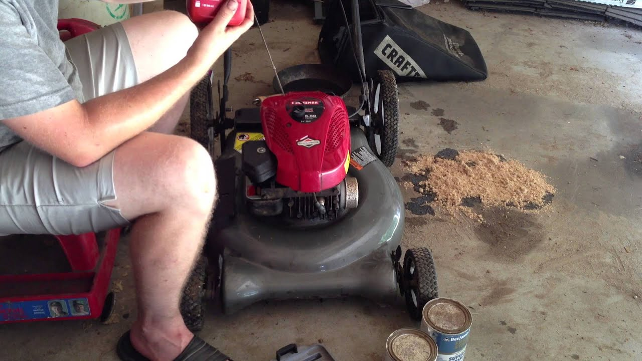 Briggs and stratton 500 series 158cc oil type