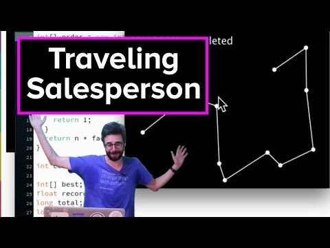 Live Stream #57 - Traveling Salesperson