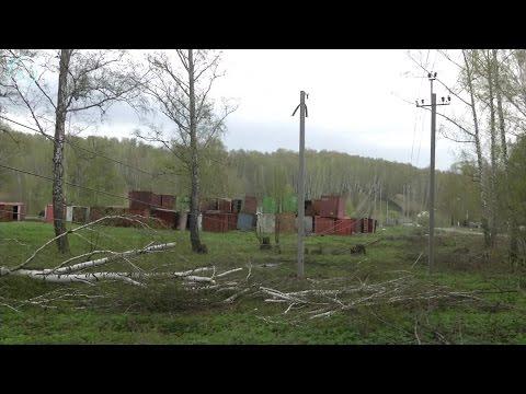 В Дзержинском районе Новосибирска высоковольтные провода опустились на опасное расстояние от земли