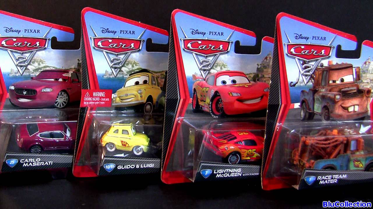 Cars 1 And 2 Toys : Contest cars carlo maserati mater luigi guido toys