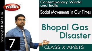 Bhopal Gas Disaster :  Social Movements in Our Times | Social Science | Class 10