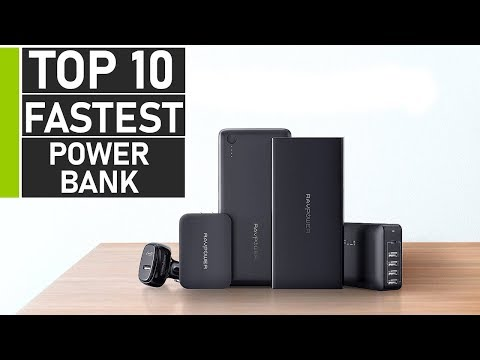 Top 10 Fast Charge Power Banks For Everyday Travel | Best Type C & PD Power Bank