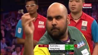 2018 World Cup of Darts Round 1 Australia vs Hong Kong