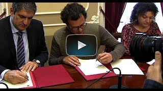 El Ayuntamiento y el Decanato de Juzgados firman el nuevo protocolo antidesahucios
