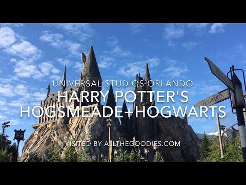 Harry Potter´s Hogsmeade And Hogwarts 4K, Universal Studios Orlando   Allthegoodies.com