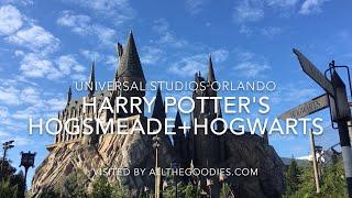 Harry Potter´s Hogsmeade and Hogwarts 2018 4K, Universal Studios Orlando