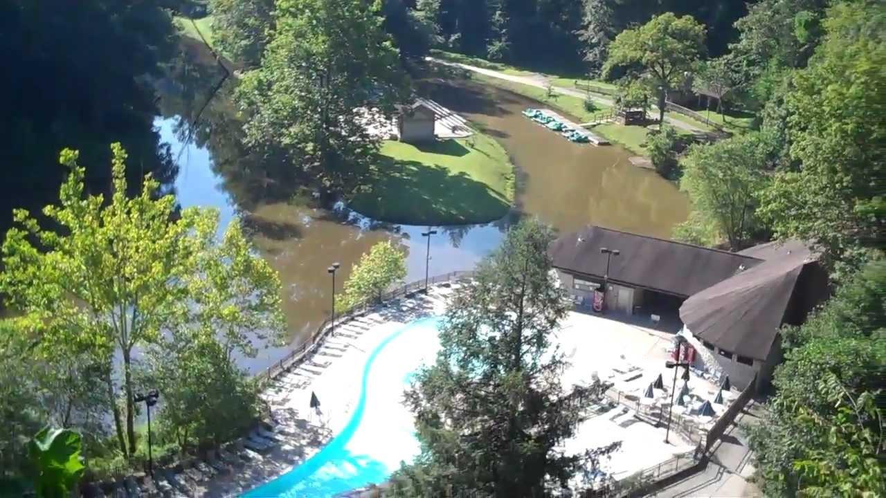 Hemlock Lodge And Pool Natural Bridge Resort State Park