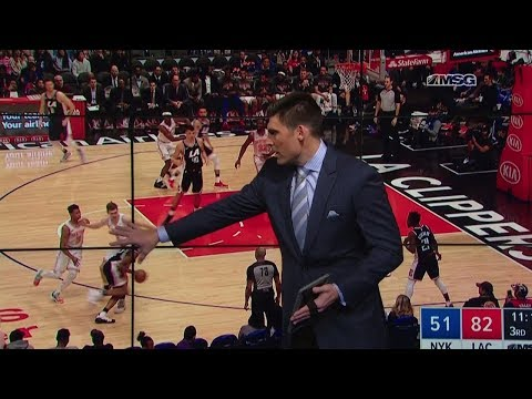 Wally Wall: Defense Helped Cut the Clippers' 2nd Half Lead | Knicks Post Game