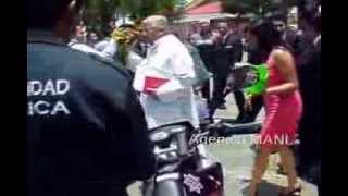 Vehículos de seguridad pública en Jaltenco