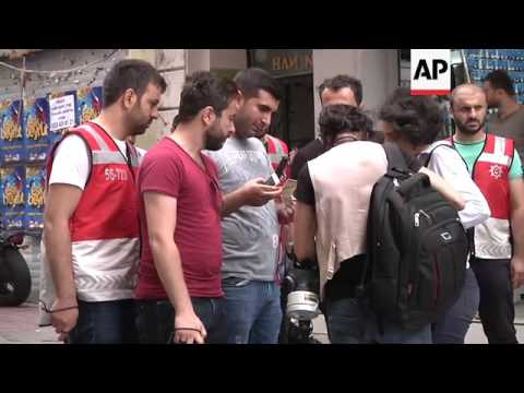 Clashes at gay pride rally in Turkey