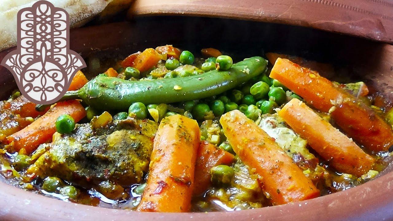 Tajine de dinde aux petits pois carottes youtube - Comment cuisiner les petits pois ...