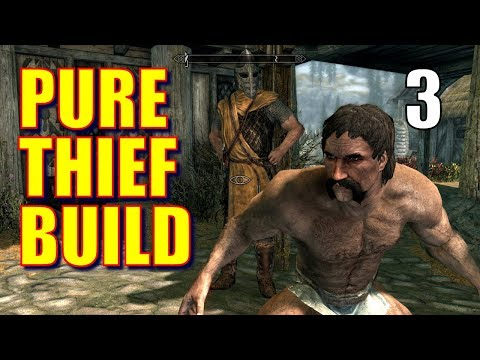 Skyrim Pure Thief Walkthrough 100% STOLEN LOOT #3: Pickpocketing Ammo (Best Strategy!), Jail Break