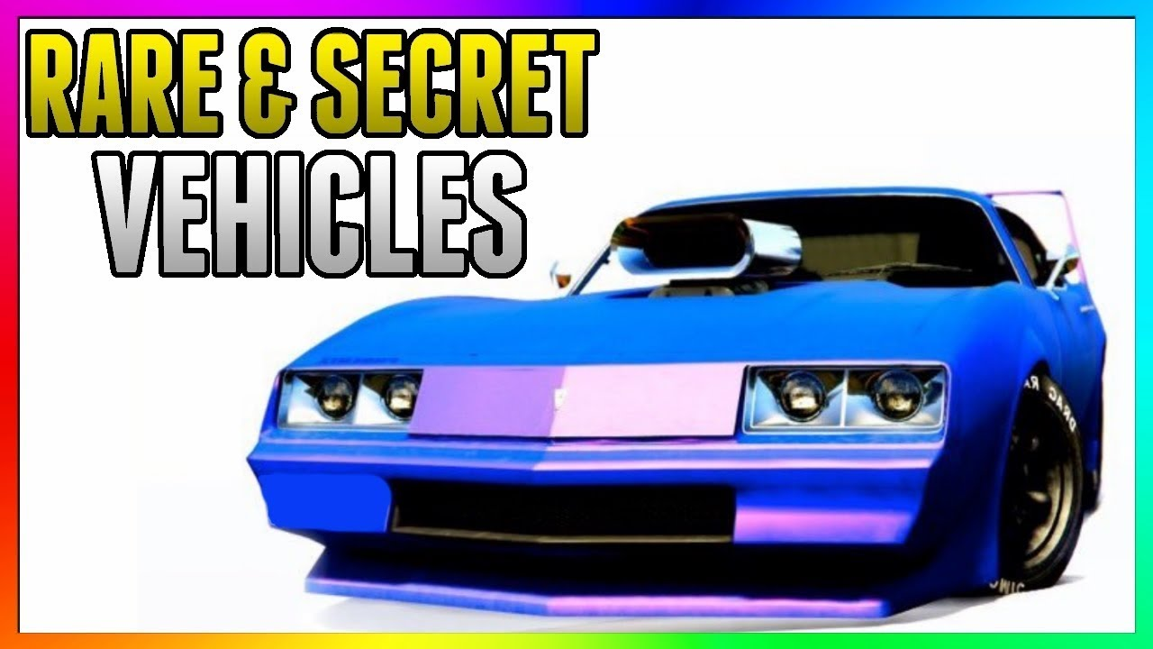 GTA 5 Online - FREE RARE CARS Location 1 43: SECRET HIDDEN RARE CARS! (GTA  5 Best Rare Cars Online)