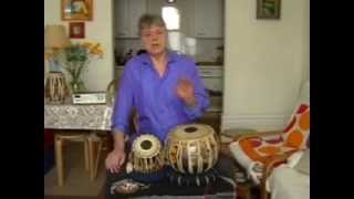 White India - Tabla Lesson 26 - Rupak Tal (7) kaida form / half speed rela improvisation composition