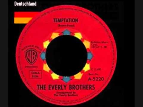 THE EVERLY BROTHERS    Temptation