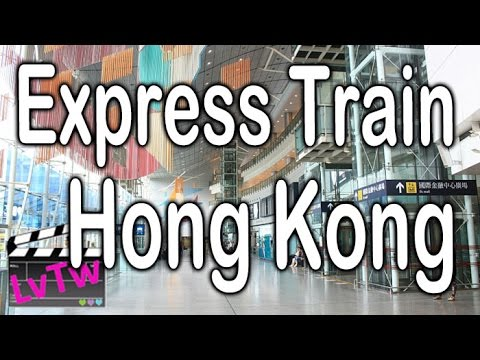 Hong Kong Airport Express Train 機場快綫