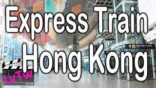Hong Kong Airport Express Train 機場快綫
