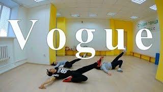 Лёгкий танец в стиле Вог (Vogue)