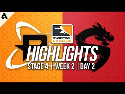Philadelphia Fusion vs Shanghai Dragons   Overwatch League Highlights OWL Stage 4 Week 2 Day 2
