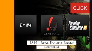"[""Farming Simulator 19"", ""FS19"", ""Landwirtschafts Simulator 19"", ""LS19"", ""Farming"", ""Landwirtschaft"", ""Mod"", ""Mods"", ""modden"", ""modding"", ""Engine Brake"", ""Motorbremse"", ""Real engine braking effect"", ""Realerer Motorbremsen Effekt"", ""less brake"", ""weniger B"