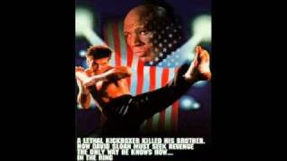 "KICKBOXER 2 SOUNDTRACK ""A MAN ALONE"""