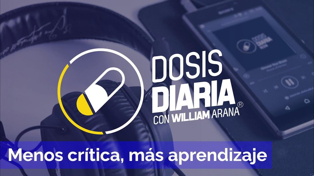 Dosis Diaria Roka - Menos crítica, más aprendizaje