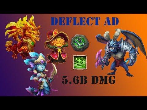 Castle Clash : 5.6 Billion Score   Deflect Archdemon W/Summing Monsters Setup