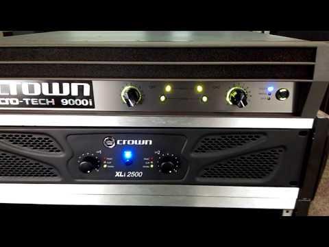 Test power amplifier Crown Macro-Tech 9000i ทดสอบๆ