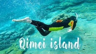 The Most Fun Vlog From Taiwan ! Snorkeling, Cycling, Twin Hearts (Qimei Island 七美嶼) | Tanya Khanijow