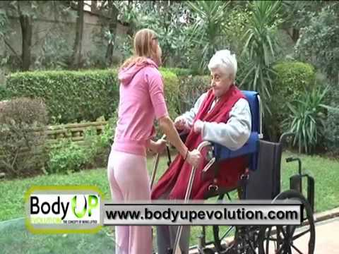 Body Up Evolution Patient Lift And Mobility Transfer Device Video