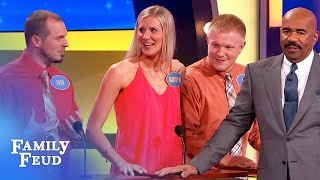 My mother-in-law has a BIG... | Family Feud