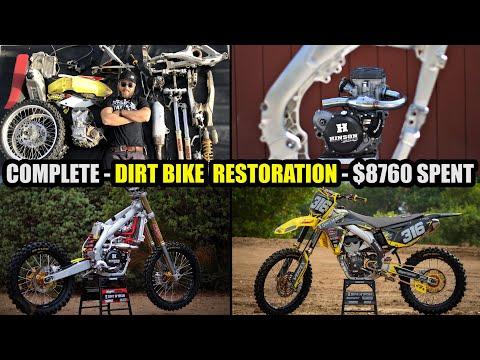 Dirt Bike Build - time lapse