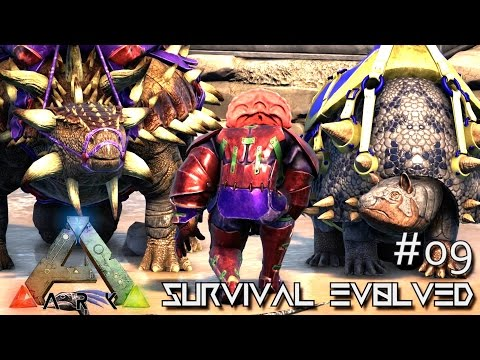 ARK: Survival Evolved - HEAVY HITTERS 150 ANKYLO & DOEDIC - SEASON 4 [S4 E09] (Center Map Gameplay)