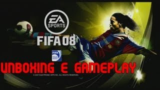 Colecionando Fifas #2 - Unboxing e Gameplay Fifa 08, Querem série?