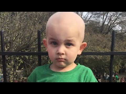 Firefighters Shave Their Heads To Support Colleague's 3-Year-Old Son With Cancer
