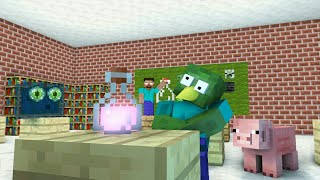EXTREME BREWING - Monster School - Minecraft Animation