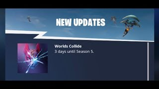 """Worlds collide"" Season 5 meaning Fortnite Battle Royale (What does Worlds collide mean?)"