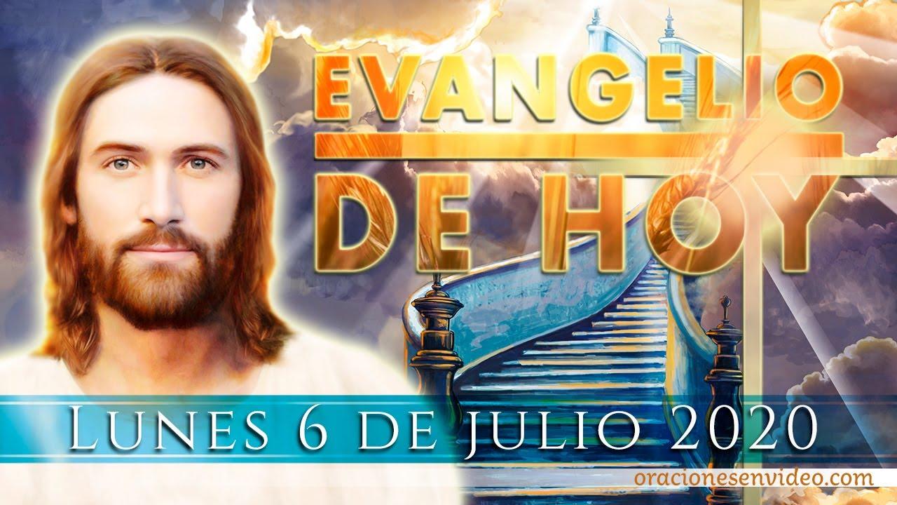 """Evangelio de HOY Lunes 06 julio. """"Hija, ten confianza; tu fe te ha curado""""."""